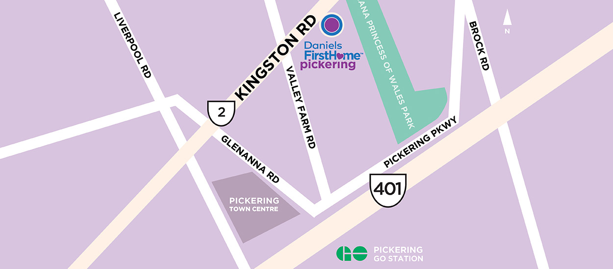 Pickering Locator Map